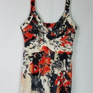 ROBBIE BEE MAXI DRESS Floral Size L S24